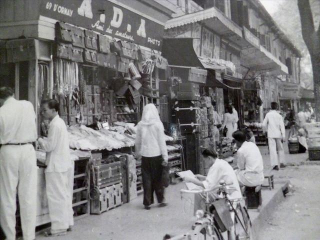 Saïgon - Les Baraques du bazar - Rue d'Ormay, trước 1975 là đường Nguyễn Văn Thinh