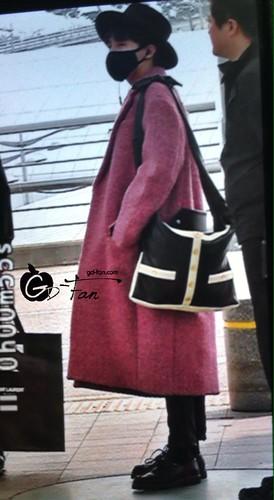 Big Bang - Incheon Airport - 21mar2015 - G-Dragon - GD Fan - 01