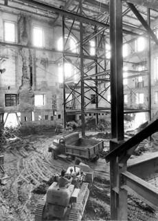The Shell of the White House during the Renovation, 05/17/1950