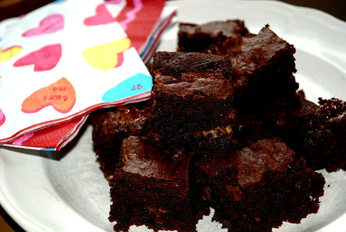 Loverlicious Chocolate Truffle Brownies