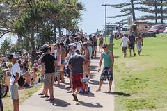 Surfing Fans Breaka Burleigh Surf Pro