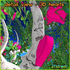 Hearts Fruit tree - Valentine tree