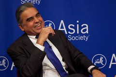 Kishore Mahbubani and Ian Bremmer at Asia Society New York 6