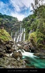 Le Lit de la Cascade Grand-Galet - Ile de la Réunion