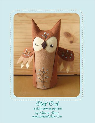 Olaf Owl plush pattern
