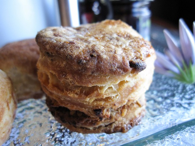 House made bannock, pecan, and cheese mini scones