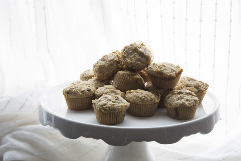Peanut Butter & Ginger Muffins
