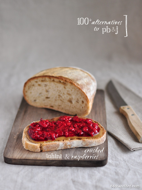 100+ alternatives to pb&j