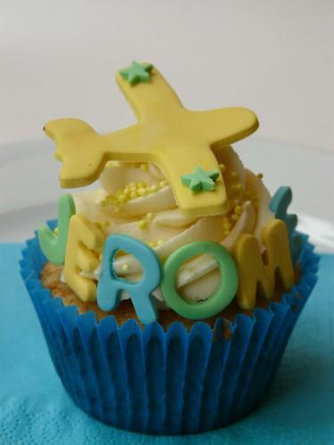 Plane Cupcake