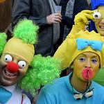 Los Simpsons en el carnaval de cadiz