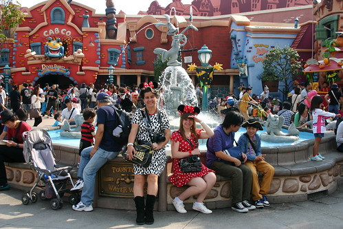 Toon Town Fountain