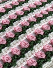 Rows of Blossoms Scarf
