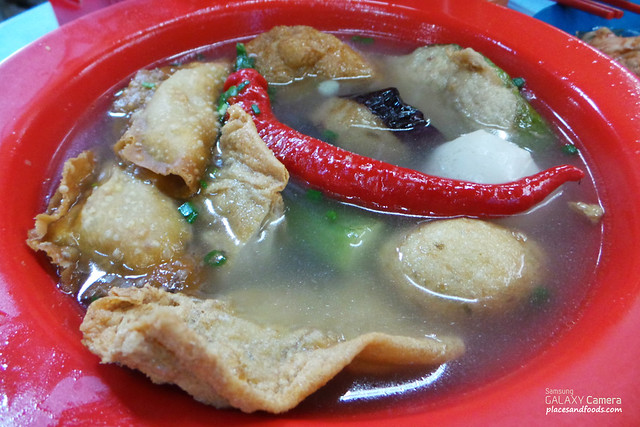 madras lane stall yong tau fu