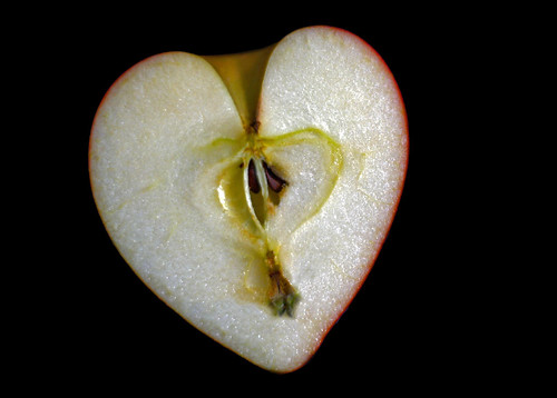 43. heart apple