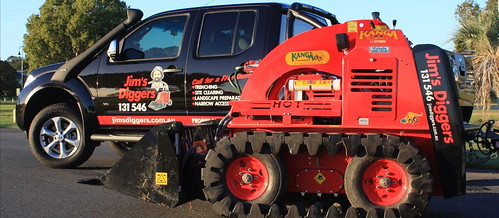 Dingo Digger Hire at Golden Square