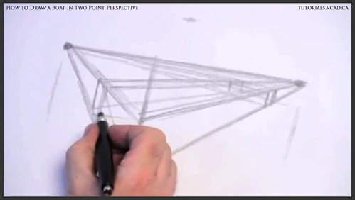 learn how to draw a boat in two point perspective 003