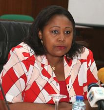 Filomena Delgado, Angolan Minister of Family and Gender Affairs. She attended a regional summit in Mozambique in February 2013. by Pan-African News Wire File Photos