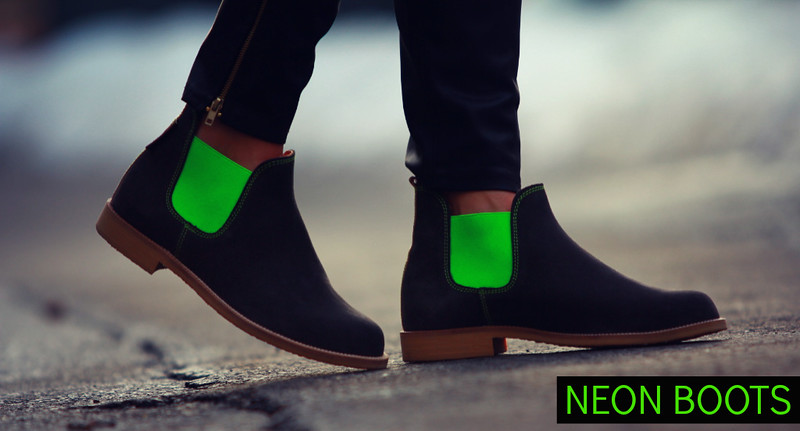 STYLELOVER_NEONBOOTS