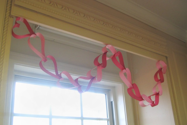 Super Easy Heart Garland