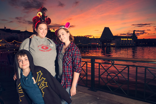 Amy's Birthday at the Disney Boardwalk