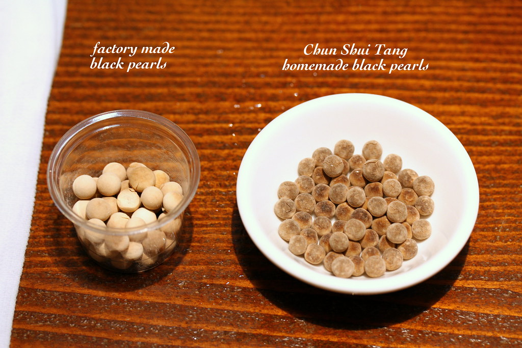 Chun Shui Tang: Black Pearls