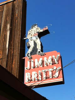 JIMMY BRITT'S NEON SIGN