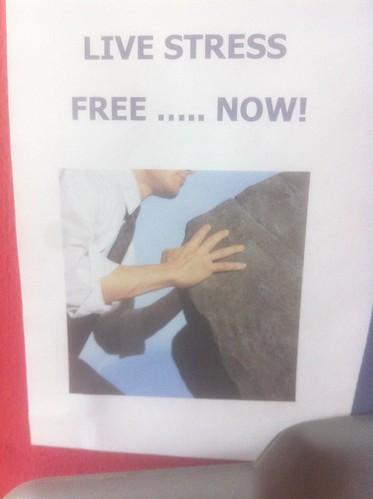 LIVE STRESS FREE ..... NOW!