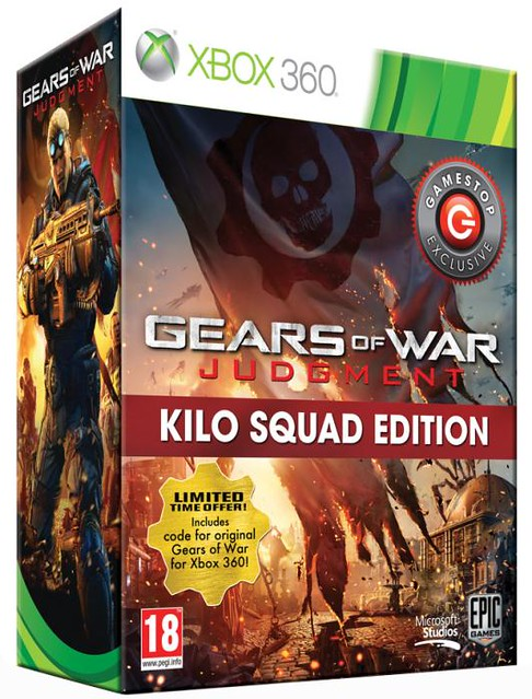Gears of War Judgement Kilo Squad Edition Coming to Europe