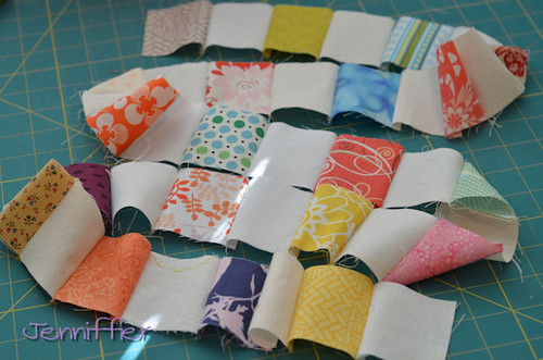 Sunday Morning Quilt Bee Block Feb for gingerthreadshop