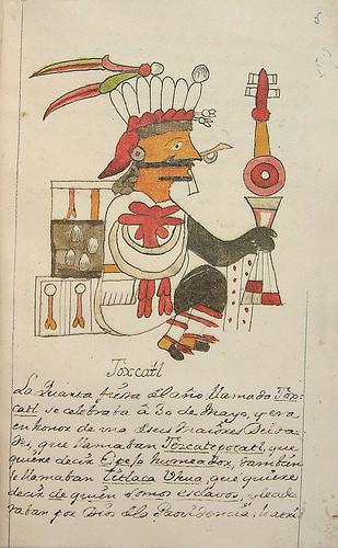 006-Cuarta fiesta Toxcatl-Códice Veitia- Biblioteca Virtual Miguel de Cervantes