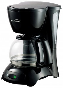 4-Cup Coffeemaker Black / White
