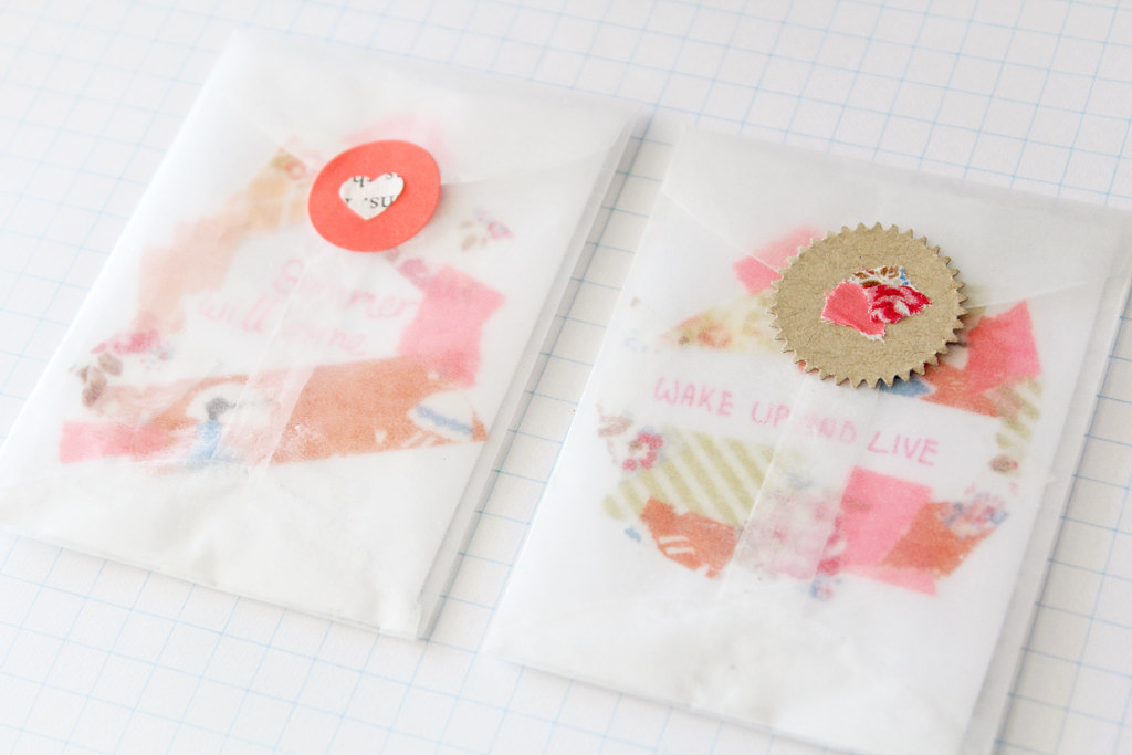 wax paper envelopes