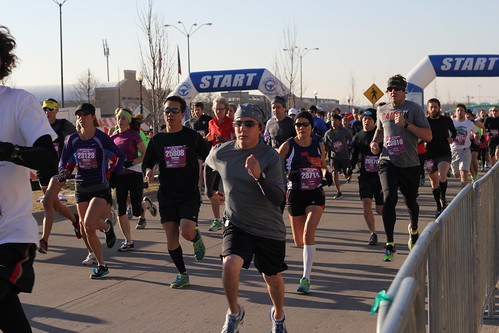 Cowtown 10K Start