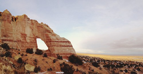 White mesa arch. Coconino county, Arizona