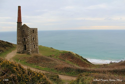 Wheal Prosper, Kinsey, Cornwall by Stocker Images