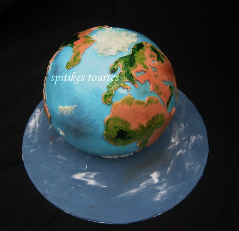 Planet earth cake | Flickr - Photo Sharing!