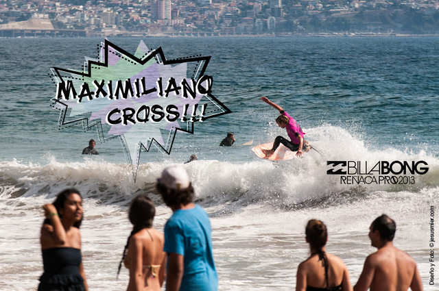 Maximiliano Cross - Billabong Reñaca Pro 2013