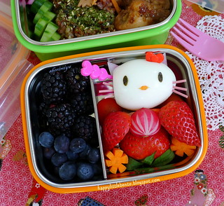 Hinamatsuri Girls Day Bento closeup