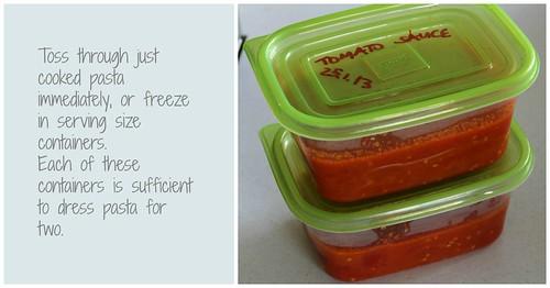 Tomato Pasta Sauce Collage 5