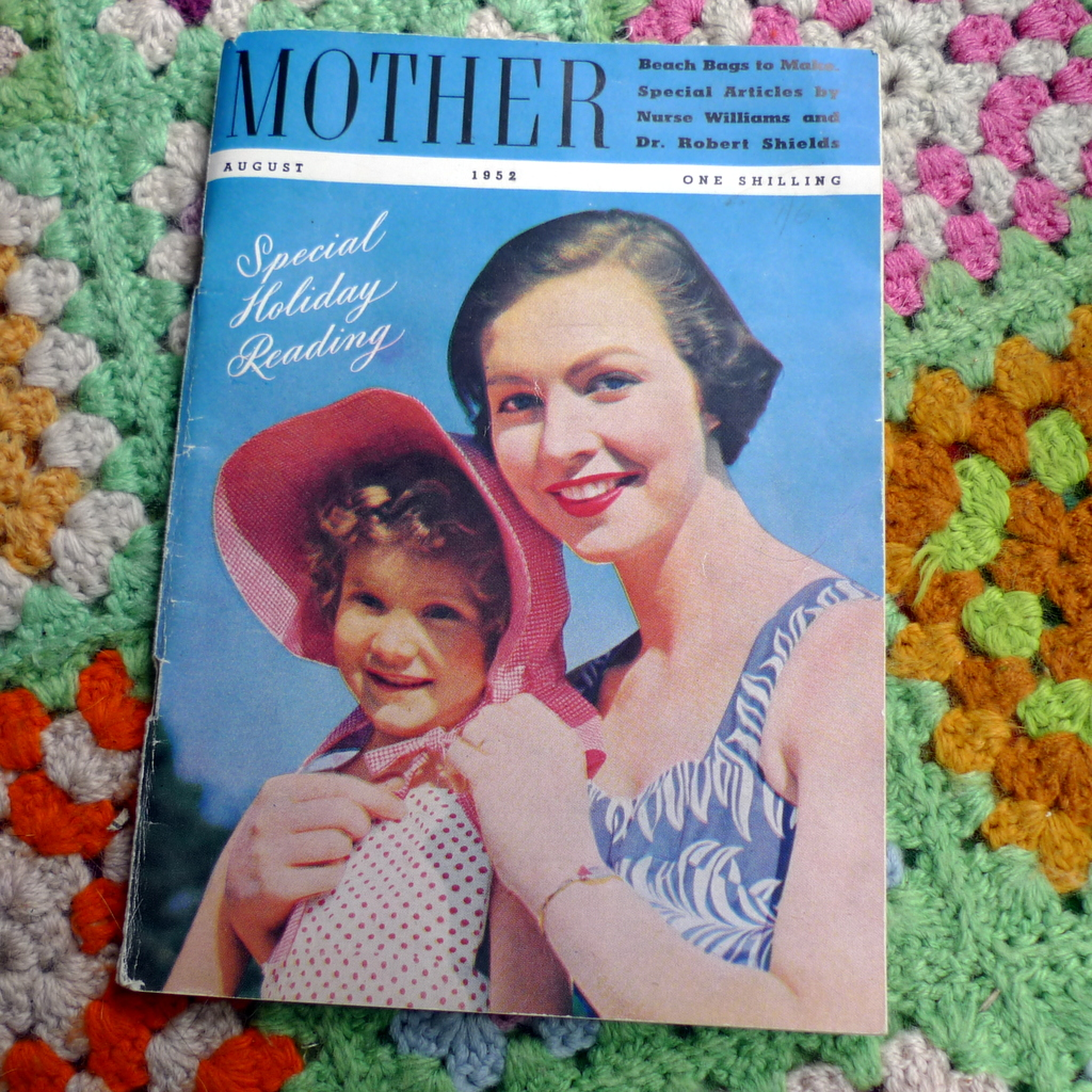 Mother magazine August 1952