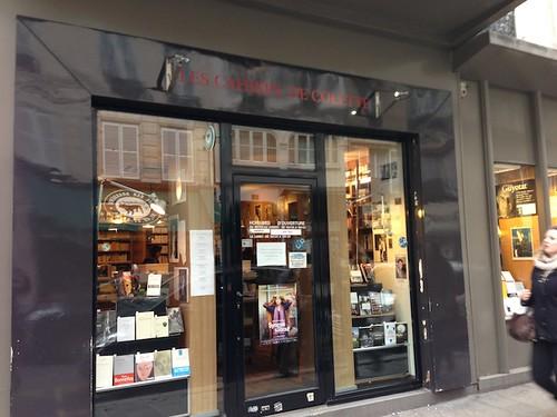 librairie Les Cahiers de Colette Paris