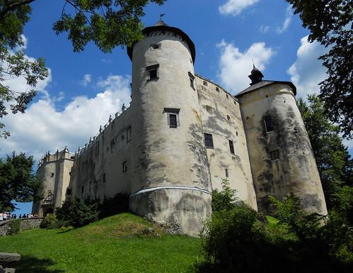 castle poland dunajec niedzica czorsztyn