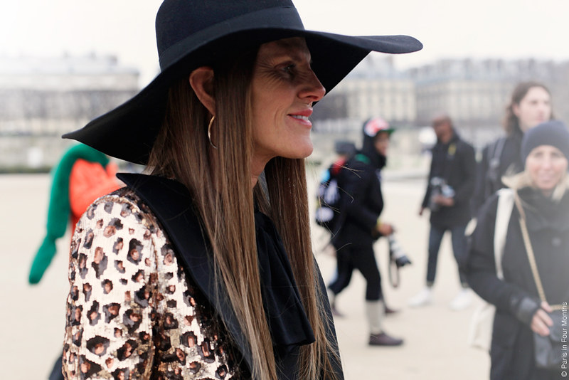 Anna Dello Russo at Paris Fashion Week FW13 by Carin Olsson (Paris in Four Months)