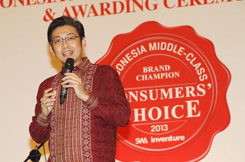 Indonesia Middle-Class Brand Forum 2013-Niko Kurniawan