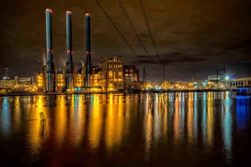 Manchester Street Power Station by Frank C. Grace (Trig Photography via I {heart} Rhody