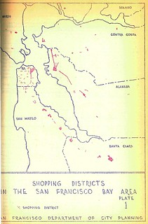 Shopping Districts in the San Francisco Bay Area (1952)