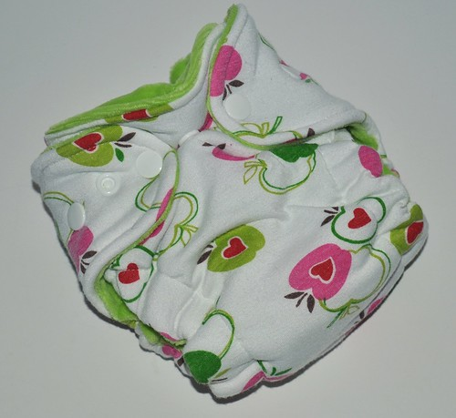 Bumstoppers Newborn Apples Hybrid Fitted **New Style**