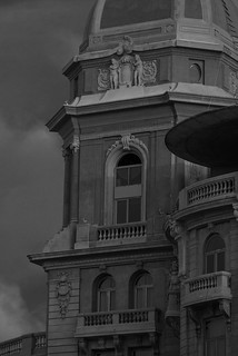 Image of Playa Carrasco near Barra de Carrasco. building architecture sunrise uruguay hotel arquitectura edificio casino amanecer montevideo carrasco sofitel d800 rambla patrimonio historico nobile arocena jikatu d800e