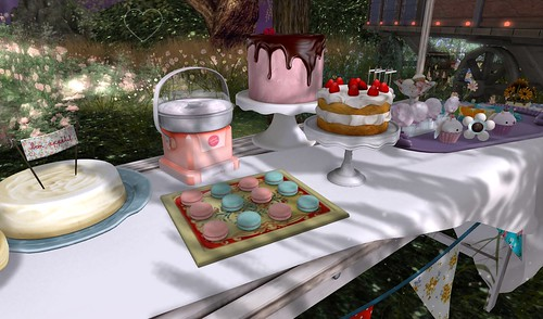 Home Sweet Home ~ Twilight Garden ~ Party Food