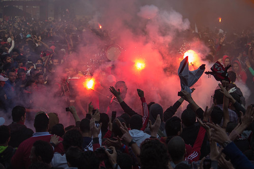 Ultras celebrate 2nd verdict Port Said